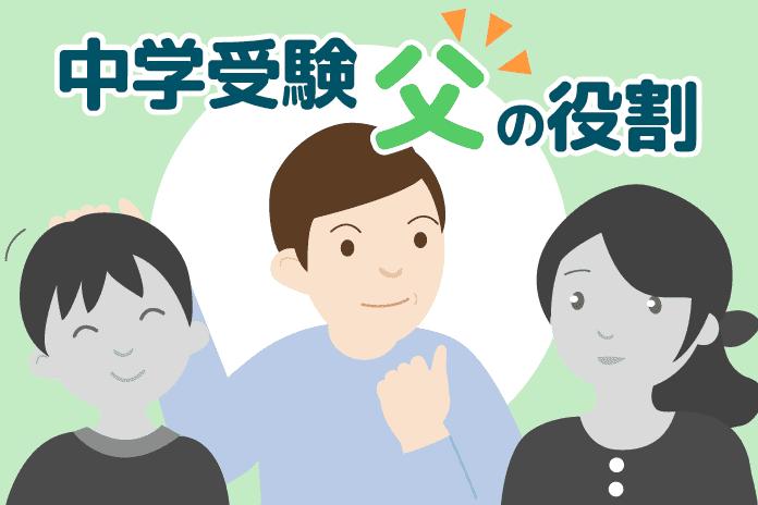 【合格と不合格の境界線】子供の中学受験での父親の役割とは?